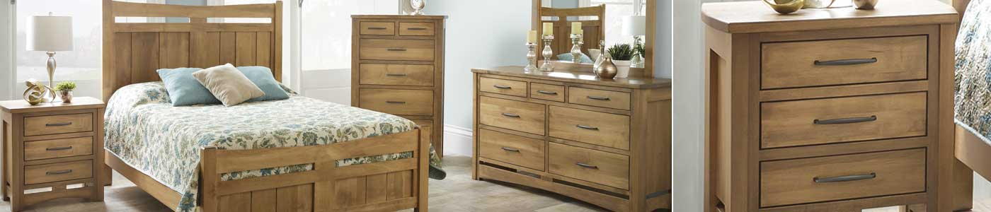 handcrafted bedroom furniture collections