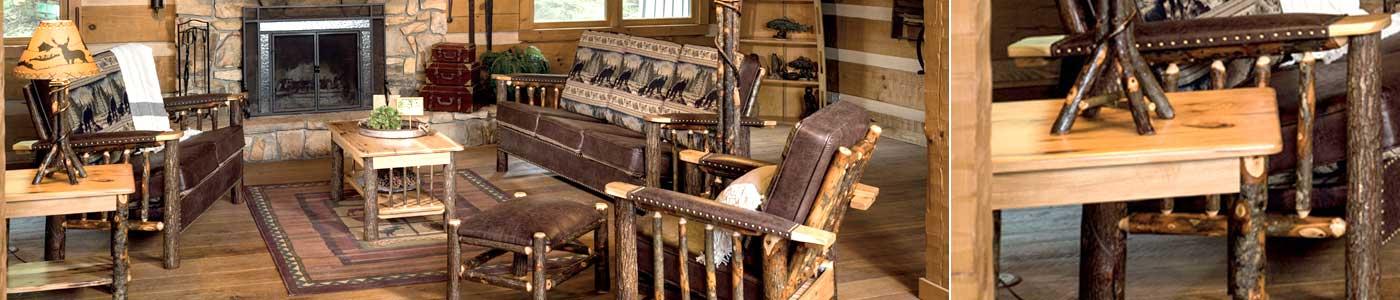 Stylish living room furniture.