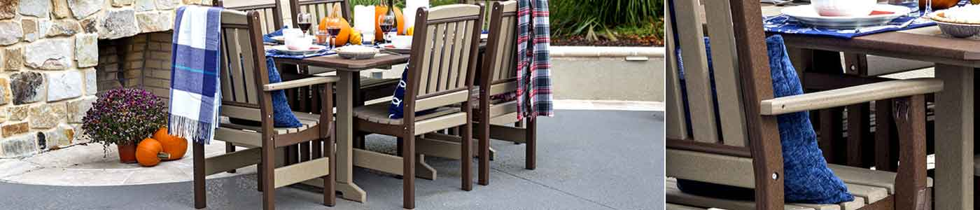 Maintenance-Free Outdoor Poly Furniture