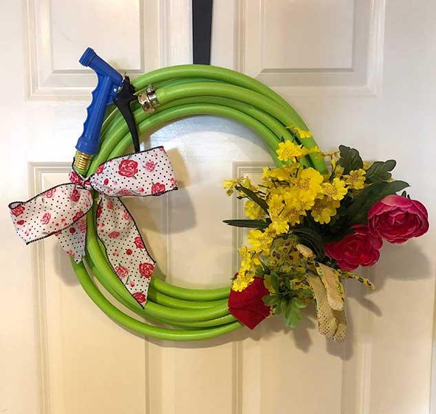 Spring Wreath Craft Class April 4. 2019